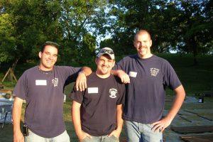 Firemen at Sun Prairie Dream Park